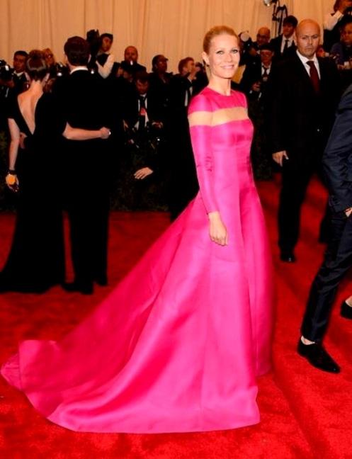 Gwyneth Paltrow en la Gala MET de Nueva York