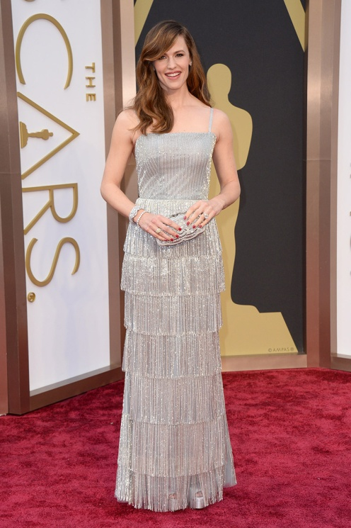 Jennifer Garner Oscar de la Renta