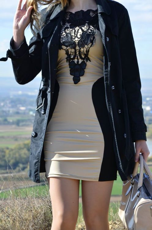 brown-black-dress-5