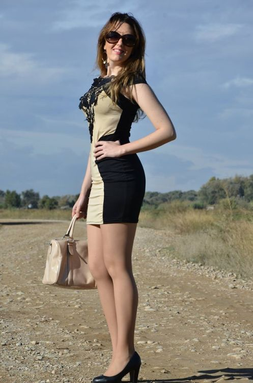 brown-black-dress-10